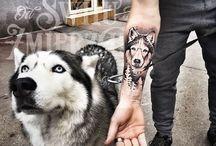 Hunde tattos