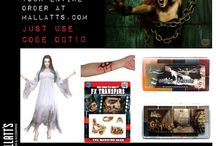 Sales / Sales and specials for makeup, costume, and accessory lovers at Mallatts.com. Happy October!