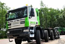"""T GINAF TRUCKS / This truck,mostly used in UK,is a special version,made by DAF,exclusive for british truck market,using the same engines like all the different ranges of DAF,only changing the name of the constructer """"DAF"""" for """"GINAF""""."""
