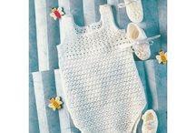 BEBÉS CROCHET / En este tablero, Muestras y Motivos tiene el placer de presentar sus e-diseños de Bebé Crochet, con la calidad que le avala desde hace treinta años. http://www.e-muestrasymotivos.com/2-bebes-y-ninos / by Muestras y Motivos