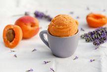 Glace abricot