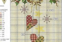 Cross-stitch / by Jenny