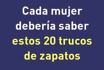 TRUCOS PARA ZAPATOS
