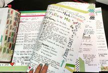 Farm girl Bible journals