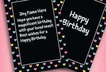 Special quotes Birthday Cards for Friends