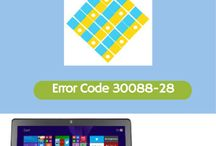 Error Code 30XXX