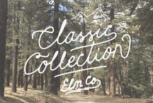 Classic Collection by Elm Company / by Elm Company