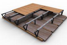 K43 Raised Storage Access Walkway Decking