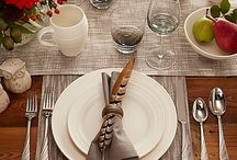 Thanksgiving Table Ideas / Get everything you need to create a beautiful Thanksgiving dinner table. / by Bed Bath & Beyond