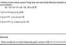 Lectii de matematica cl. a VI-a  / Lectii video de matematica pentru clasa a VI-a explicit prezentate