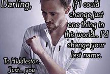 marvel/ tom hiddleston / nuf said