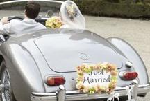 Bröllopsbil - Just married