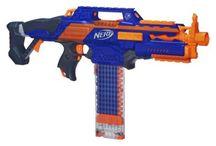 Nerf guns / He guys I love nerf guns so I thought you might like them too enjoy