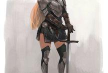 medieval style people