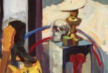 Academic Painting / Prace malarskie wykonane w Szkole Rysunku Ventzi