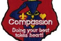 Service projects  / Cub Scouts, Boy Scouts, MOMS Club- ideas for service projects- and Wood Badge