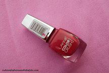 NOTD:Lakme nail paint