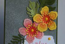 Tampon botanical blooms