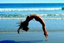 gymnastics  / by Tisha Ooten