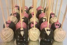 پاپ کیک عروس و داماد / پاپ کیک عروس و داماد Bride and Groom Cakepops