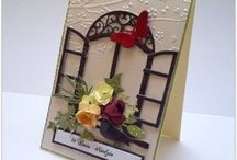handmade cards and boxes