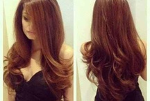 Hair / Beautiful hairstyles  / by Abby Escobar