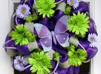 Wreaths / by Kristey Dowden Kelley