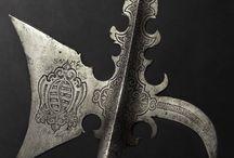 zbraně halapartny