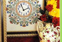 Kanaviçe Duvar Saatleri