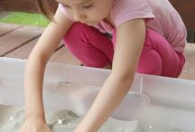Sensory and Heuristic Play / Using all of our senses to have fun