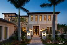 Two-Story Transitional Estate / This 6,855 s.f. two-story plan inside a gated community is targeted for the move up buyer.