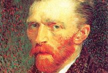 The Dutch Masters / Paintings from the great Dutch painters; Van Gogh, Rembrandt, Vermeer, etc..