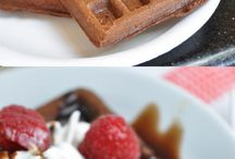 Waffle mixes
