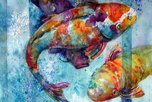 Animal Art: fish / by Abbey Trescott