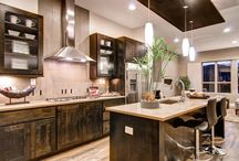 Inspired Kitchens / These beautiful kitchens contain elements of transitional, style and coziness I would love to incorporate into my home.
