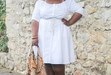 How to style a white dress in 3 ways / Outfit post on www.gaelleprudencio.com wearing a white dress from #LaneBryant in 3 ways.