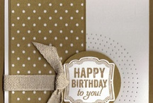 Label Love-Stampin Up / Cards featuring Label Love stamp set and punch / by Sue Richardson