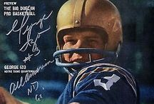 Football Memorabilia / Authentic autographed college and NFL memorabilia by legendary athletes!