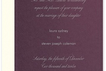 Wedding Invitations / Event Invitations / Invitation Suites, Save the Date Cards, Menus, Programs, RSVP Cards and more!
