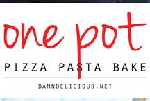 ONE POT/PAN MEALS | CASSEROLE DISHES