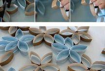 decoraciones ubos carton