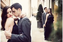Couples / Inspiration for Engagement Shoots and generally pretty couple shots. / by Hannah Mia
