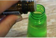 Natural bug spray