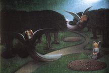 William Degouve de Nuncques / William Degouve de Nuncques (also Nunques; 28 February 1867 – 1 March 1935) was a Belgian painter.