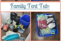 Camping & Traveling with Kids / A bit of planning goes a long way when camping and traveling with children!