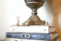 ARTSY FARTSY | Books / Book inspiration for my 1930's 920 squarefoot urban cottage. repurposed books | reclaimed books | recycled books | altered books | crafts from old books | old books | vintage books | book art | book planters | book bird houses | book shelves