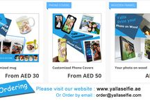 Gift Ideas / Giving the personalized gifts is fun and it is way to make someone's day so special. Have your loved ones, friends or yourself photo printed on #mugs #plates #phonecases.  Yalla Selfie can make it happen,email us on yallaselfie@gmail.com or send by whatsapp +971566954590. For #UAE only