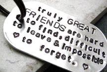 Friendship / Real friends...