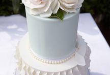 Wedding Cake and Dress