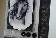 Horse card ideas